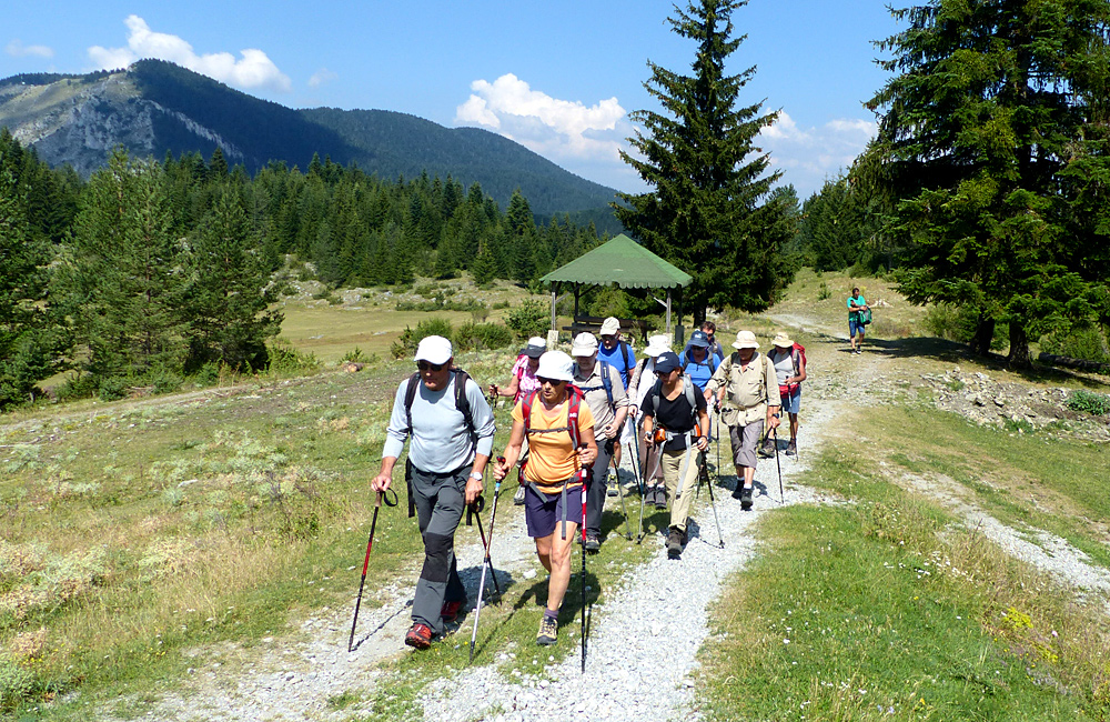 rhodope mountains hiking and walking trips