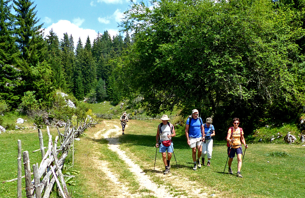 rhodope mountains self-guided walking and hiking tours around trigrad, bulgaria