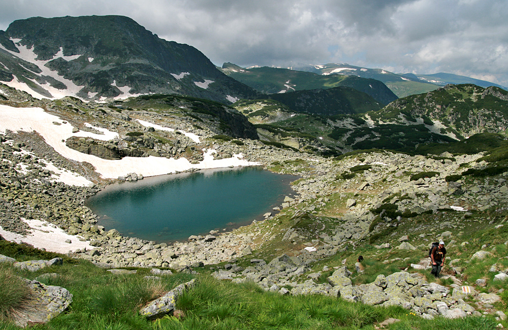 unguided and escorted walking and trekking tours in rila mountains, bulgaria