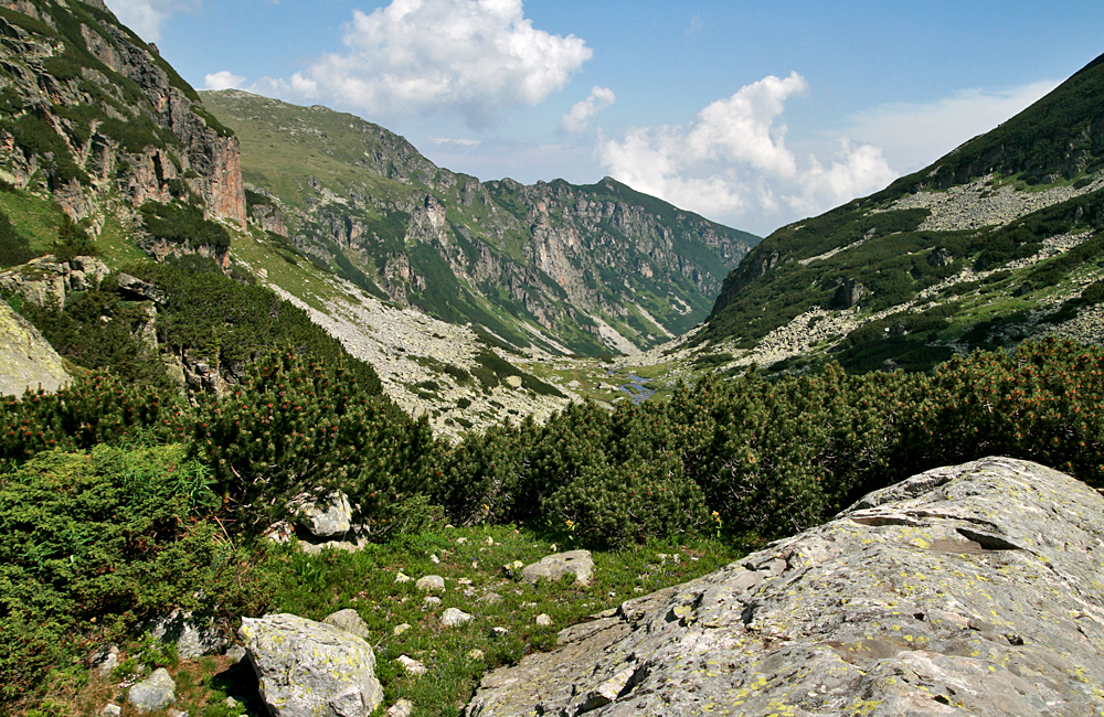 Guided and self-guided hiking tours in Rila