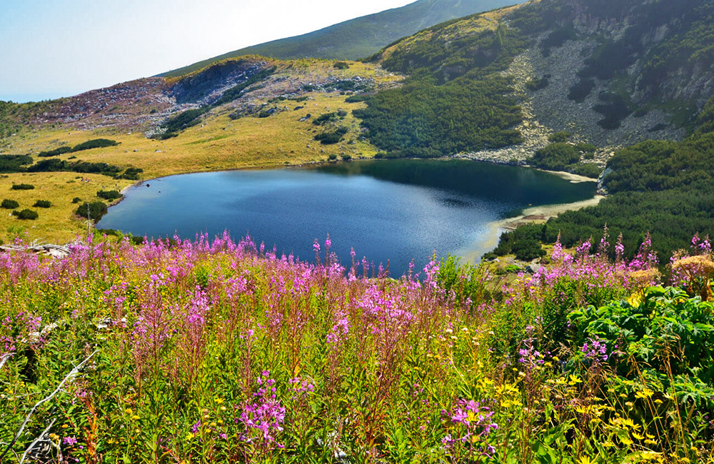 hiking and trekking near scary lake and malyovitsa, rila mountains