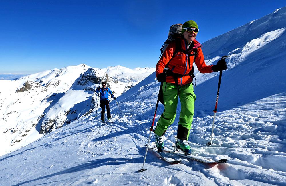 skitouren und skibergsteigen in den rila und pirin bergen, bulgarien