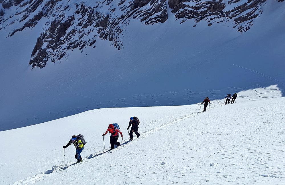 freeriding, ski touring and backcountry skiing in pirin mountains, bulgaria