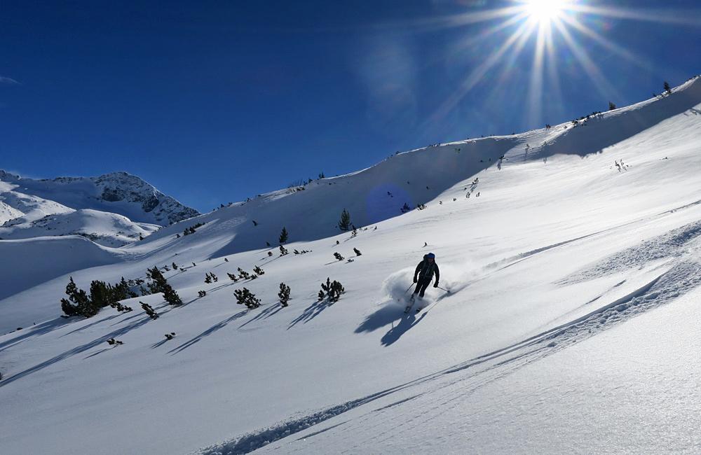ski touren in bulgarien, rila und pirin bergen