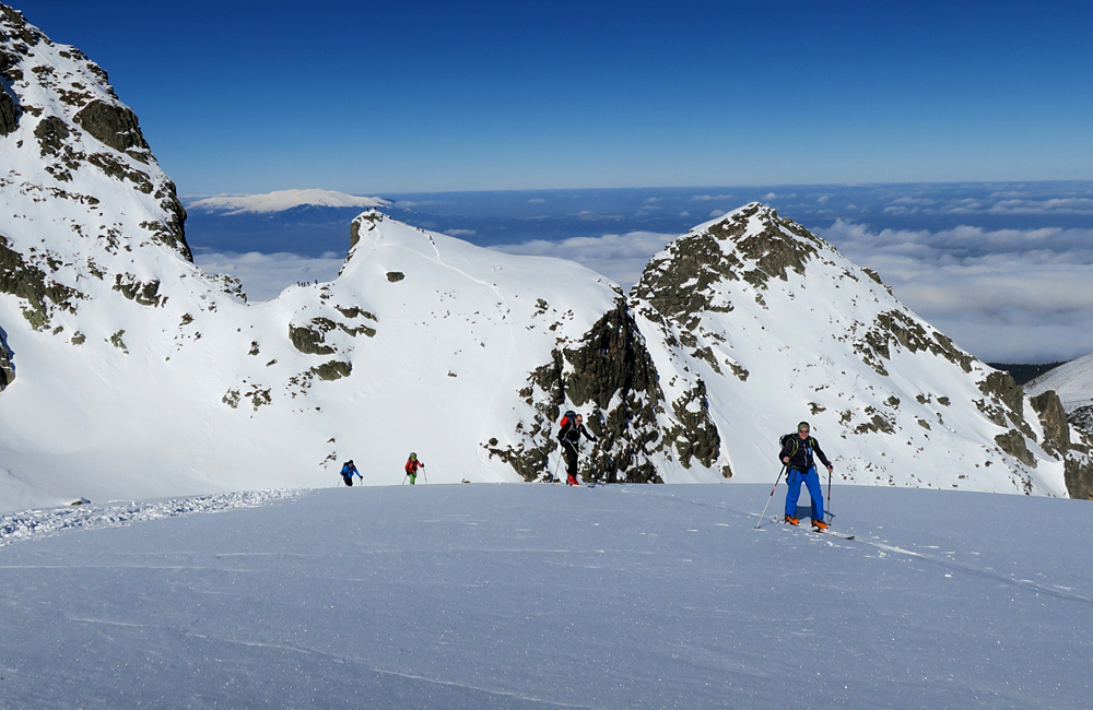rila and pirin mountains ski touring and backcountry skiing, bulgaria