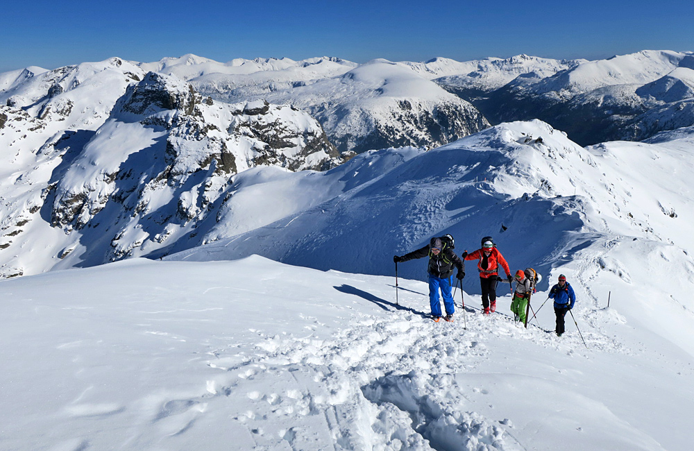 ski touring and backcountry skiing in bulgaria, rila and pirin mountains