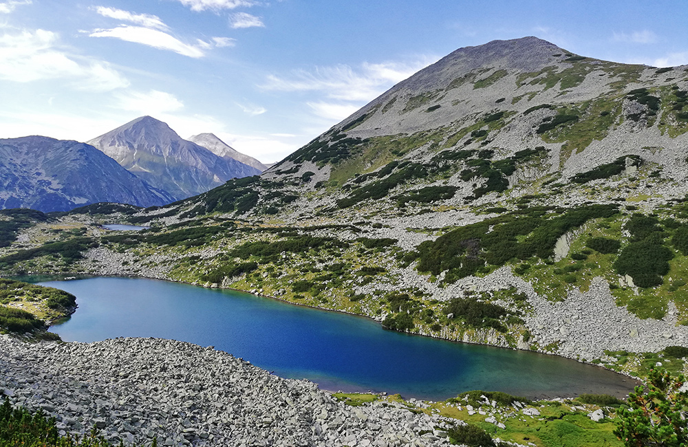 pirin mountains hiking trek