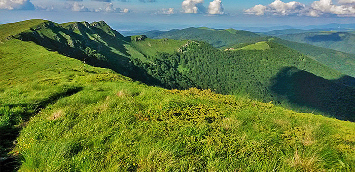 hiking and trekking in the balkan mountains, bulgaria