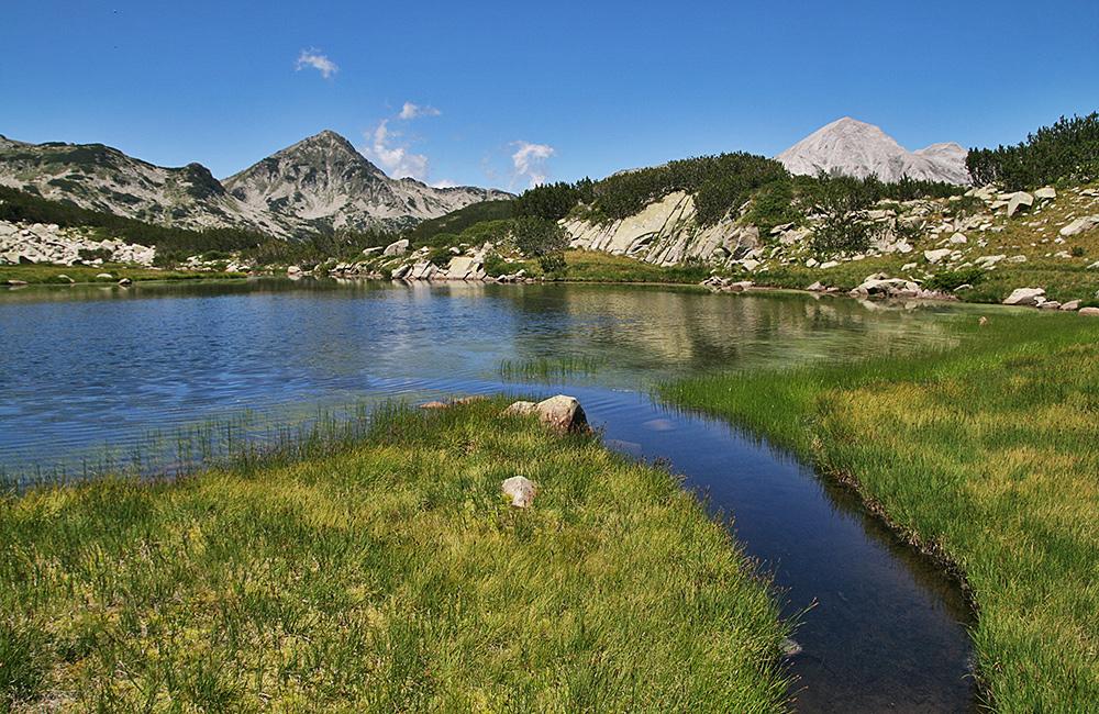 wander- und trekkingtouren in piringebirge, bulgarien