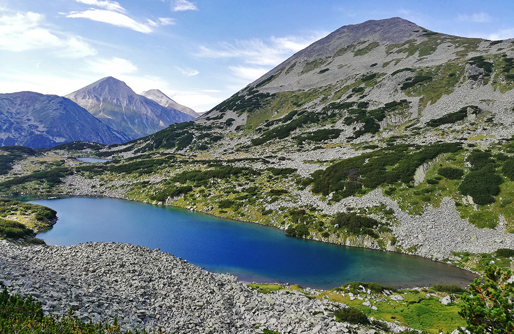 trekking, hiking and walking in pirin mountains