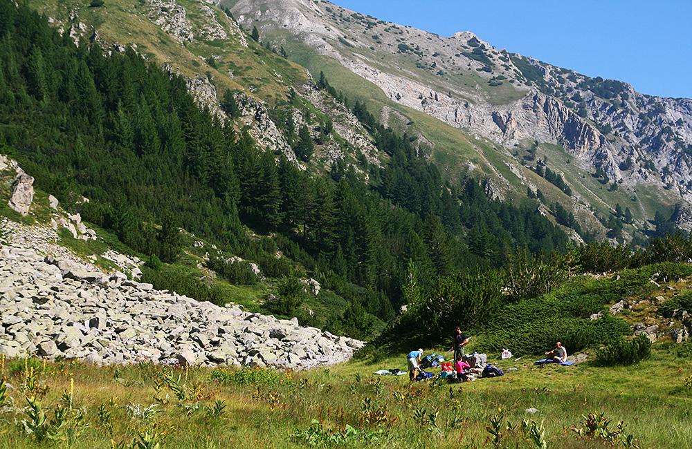 wander- und trekkingtour in den bergen pirin, bulgarien