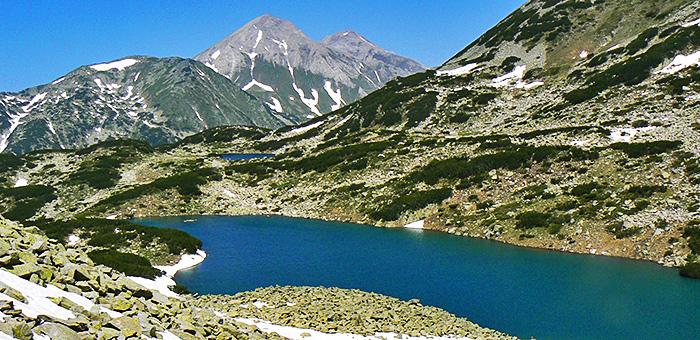 circuits de randonnée et de trekking à pirin, bulgarie