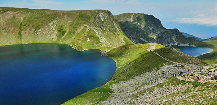 circuits de randonnée et de trekking à rila, bulgarie