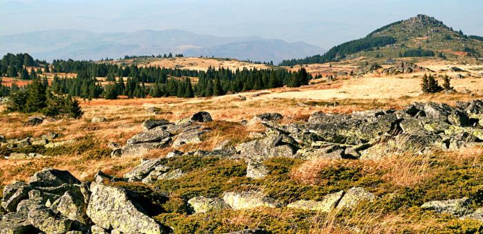 circuits de randonnée et de trekking à vitosha, bulgarie