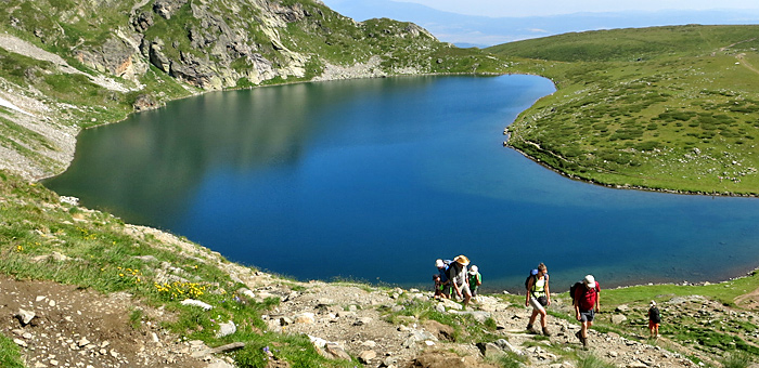 los siete lagos de rila senderismo y trekking, bulgaria