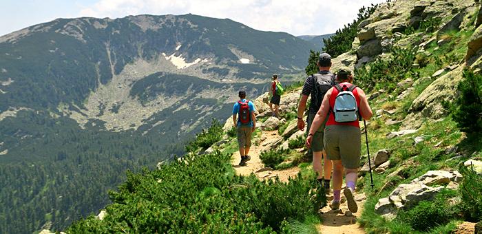 randonnée et trekking à pirin, bulgarie