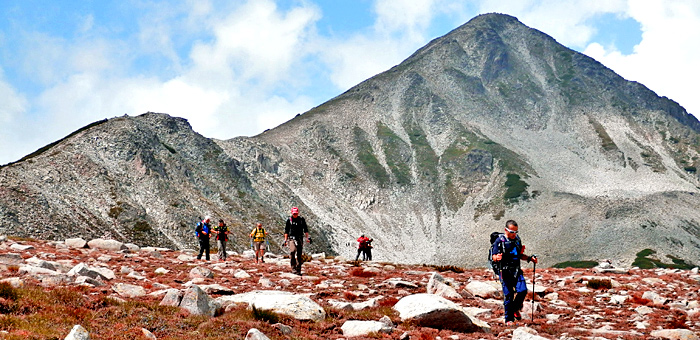 randonnée et trekking à rila et pirin, bulgarie