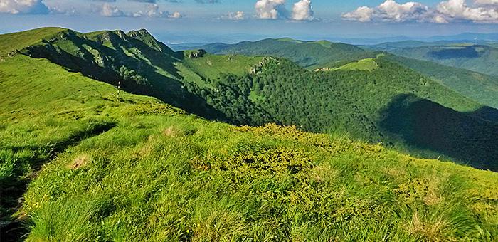 senderismo y pedestre en bulgaria, trekking en stara planina (balkan)