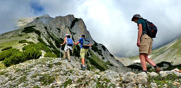 senderismo y trekking independiente, bulgaria