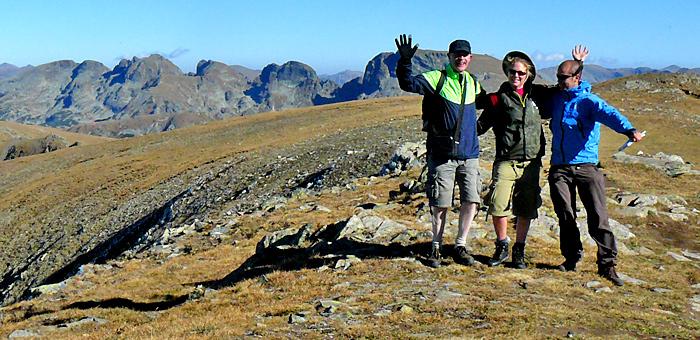 wander- und trekkingtour in den rila-bergen, bulgarien
