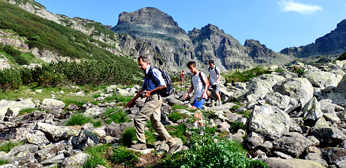 wanderreisen und trekkingtour in den rila, bulgarien