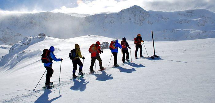ויטושה, רילה ופירין – הרפתקאות השלג הגדולות снегоходки