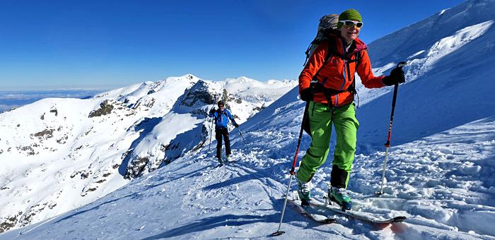 scialpinismo e sci di fondo in bulgaria