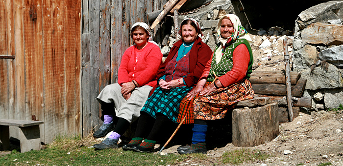 trekking individuale nelle montagne rodope, bulgaria