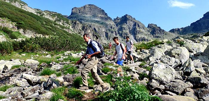 vacanze a piedi tra le montagne rila, in bulgaria